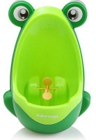 4akid easy peesy boys urinal green bath potty