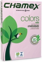 chamex tinted colour paper a4 1 ream 500 sheets pink school supply