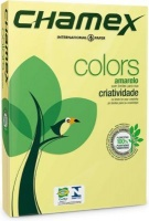 chamex tinted colour paper a4 1 ream 500 sheets yellow school supply