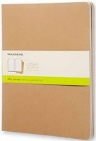 moleskine cahier journal soft plain xx large natural other