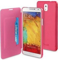 muvit folio case for samsung galaxy note 3 pink