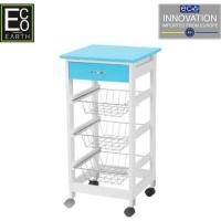 eco kitchen trolley blue living room furniture