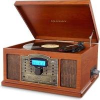 crosley troubadour turntable paprika media player accessory
