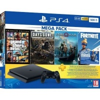 sony playstation 4 slim console bundle with god of war ps4 accessory