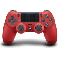 sony new playstation dualshock 4 v2 controller red ps4 accessory