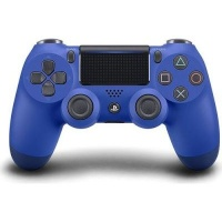 sony new playstation dualshock 4 v2 controller blue ps4 accessory