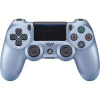 sony playstation dualshock 4 wireless controller titanium ps4 accessory