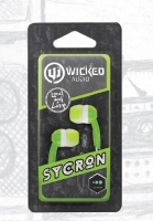 wicked sycron headphones earphone