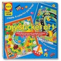 alex toys my sticker art craft supply