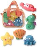 alex toys bath squirters ocean baby toy