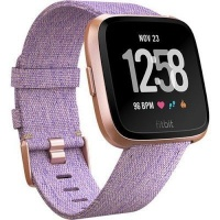 fitbit versa fitness smartwatch special edition lavender gp