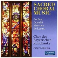 sacred choral music poulenc music cd