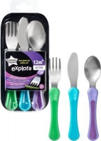 tommee tippee explora toddler cutlery set 12 months feeding