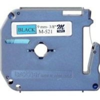 brother m k521 p touch non laminated tape black on blue labeling system