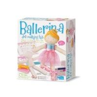 4m girl craft ballerina doll making kit craft supply