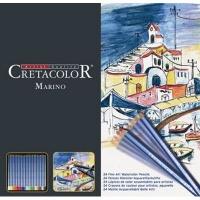 cretacolor marino watercolour pencils set of 24 arts craft