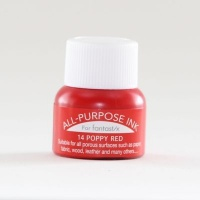all purpose ink poppy red craft supply