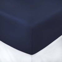 horrockses polycotton fitted sheet king navy bath towel