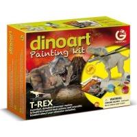 geoworld dinoart painting kit tyrannosaurus rex craft supply
