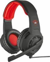 trust gxt 310 headset helmet red gaming computer