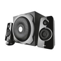 trust tytan 21 channel speaker set 60w black computer