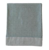 haus by hertex geneva throw 200 x 250cm everglade bath towel