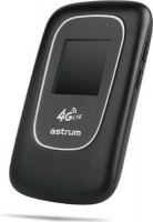 astrum hs720 4g lte mifi router with lcd display black networking