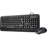 astrum kc120 wired keyboard and mouse combo black accessory