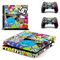skin nit decal for ps4 sticker bomb 2 ps4 console