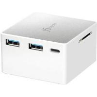 j5 create jcdp385 mobile device dock station white computer