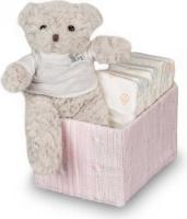bebedeparis happy nappy baby box size 2 3 6 kg pink bag