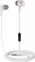 rocka danny k in ear headphones white and red headphone