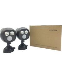 Lumina Battery Powered LED Motion Sensor Spotlight