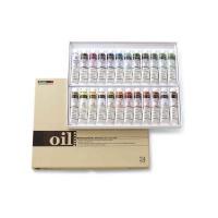 shinhan oil paint 20ml set 24 x assorted colours art supply