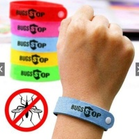 bugstop mosquito band for kids red health product