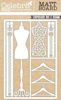 die cut matt board equi fashion elements craft supply