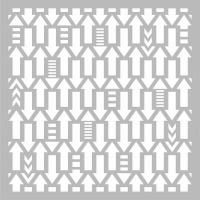 kaisercraft template arrows 6 x6 office machine