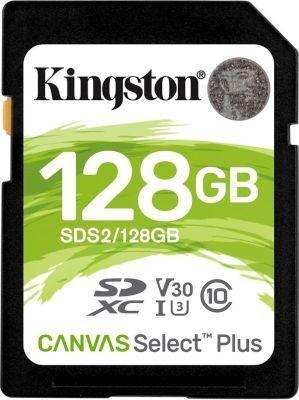 Photo of Kingston Technology Canvas Select Plus memory card 128GB SDXC Class 10 UHS-I exFAT UHS-I 3.3 V