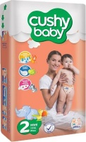 cushy baby stage 2 nappies mini 3 6kg 6 months jumbo pack bag