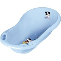disney baby mickey mouse bath with plug 84cm bath potty