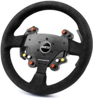 thrustmaster tm rally wheel add on sparco r383 mod for pc computer