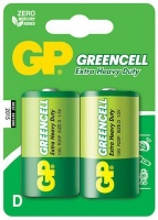 gp greencell d cell 2 pack battery