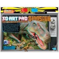 4m 3d art pad dinosaur kit arts craft