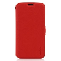 ahha reilly smart flip case for samsung galaxy s5 red