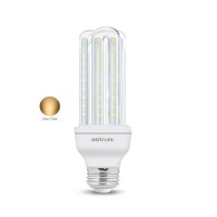 astrum e27 k120 led corn light 12w warm white light bulb
