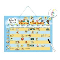 my kids magnet weekly timetable planning magnetic board vehicle