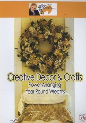 Photo of Creative Decor and Crafts: Flower Arranging - Year-Round Wreaths