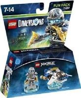 lego dimensions fun pack ninjago zane gaming merchandise