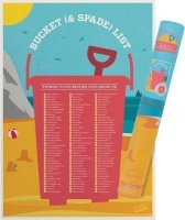 bucket list scratcher poster electronic toy