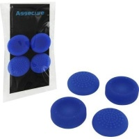 assecure ps4 silicone thumb grips concave and convex blue ps4 accessory